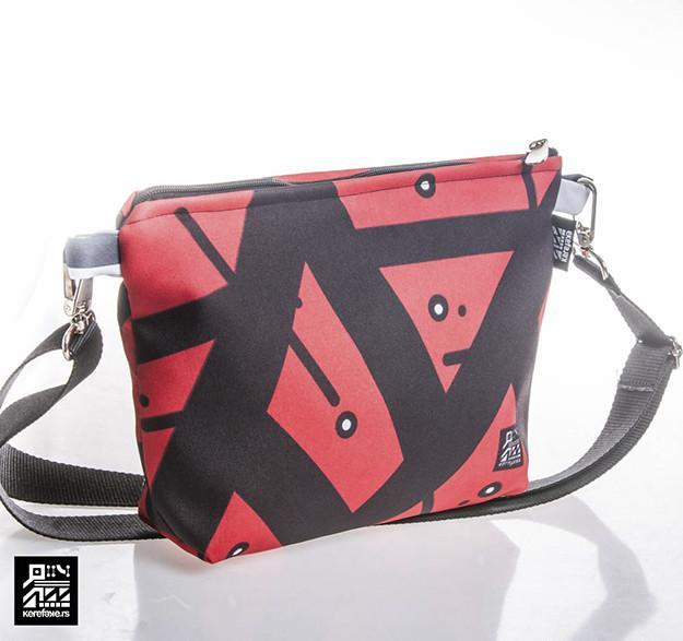 "Small Bag ""Crvena Geometrija"""